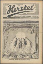 Herstel (1940) nr. 26 - Vakbeweging in de oorlog