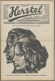 Herstel (1940) nr. 33 - Vakbeweging in de oorlog