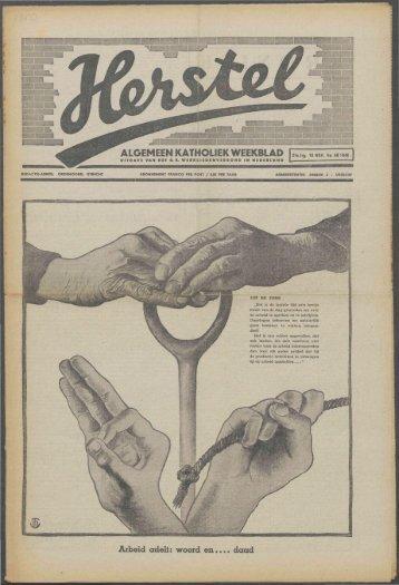 Herstel (1940) nr. 46 - Vakbeweging in de oorlog