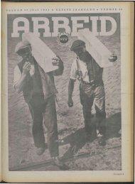 Arbeid (1941) nr. 29 - Vakbeweging in de oorlog