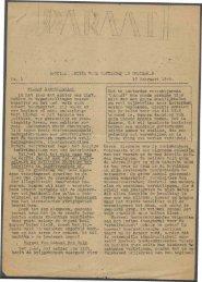 (februari 1945) nr. 1 - Vakbeweging in de oorlog