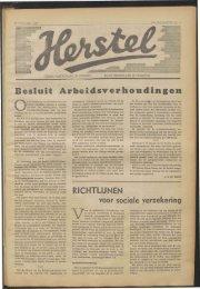 Besluit Arbeidsverhoudingen - Vakbeweging in de oorlog