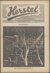 Herstel (1940) nr. 44 - Vakbeweging in de oorlog