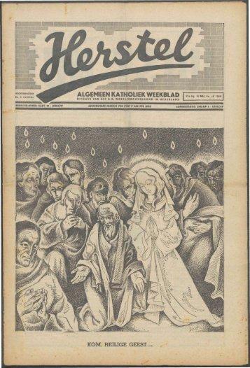 Herstel (1940) nr. 19 deel 1 - Vakbeweging in de oorlog