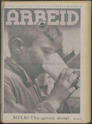 Arbeid (1941) nr. 27 - Vakbeweging in de oorlog