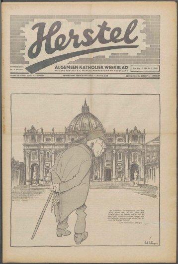 Herstel (1940) nr. 3 - Vakbeweging in de oorlog