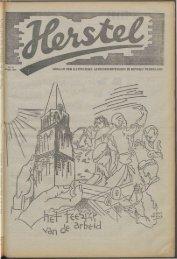 Herstel (1945) nr. 11 - Vakbeweging in de oorlog