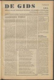 GESCHONDEN WERELD - Vakbeweging in de oorlog