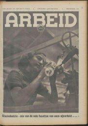 Arbeid (1942) nr. 13 - Vakbeweging in de oorlog