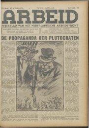 Arbeid (1942) nr. 48 - Vakbeweging in de oorlog