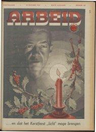 Arbeid (1941) nr. 50 deel 1 - Vakbeweging in de oorlog
