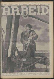 Arbeid (1941) nr. 20 - Vakbeweging in de oorlog