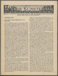 november 1944 - Vakbeweging in de oorlog