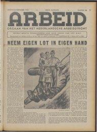 Arbeid (1943) nr. 26 - Vakbeweging in de oorlog