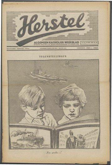 Herstel (1940) nr. 48 - Vakbeweging in de oorlog