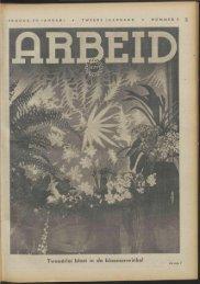 Tweeërlei bloei in de bloemenwinkel - Vakbeweging in de oorlog