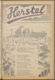 Herstel (1945) nr. 8 - Vakbeweging in de oorlog