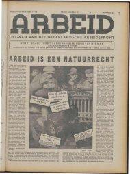 Arbeid (1943) nr. 28 - Vakbeweging in de oorlog