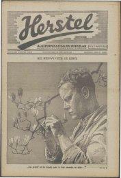 Herstel (1941) nr. 12 - Vakbeweging in de oorlog