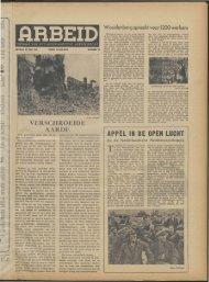 Arbeid (1944) nr. 15 - Vakbeweging in de oorlog
