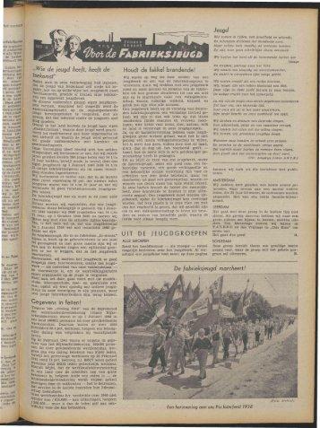 Arbeid (1941) nr. 19 deel 2 - Vakbeweging in de oorlog