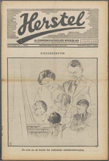 Herstel (1940) nr. 30 - Vakbeweging in de oorlog