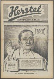 Herstel (1940) nr. 34 - Vakbeweging in de oorlog