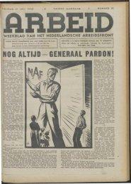 Arbeid (1942) nr. 31 - Vakbeweging in de oorlog