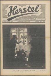 Herstel (1941) nr. 7 - Vakbeweging in de oorlog