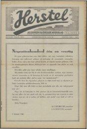 Herstel (1941) nr. 1 - Vakbeweging in de oorlog