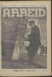Arbeid (1942) nr. 2 - Vakbeweging in de oorlog