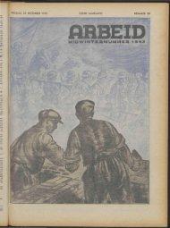 Arbeid (1943) nr. 29 - Vakbeweging in de oorlog