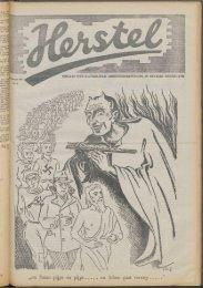 Herstel (1945) nr. 5 - Vakbeweging in de oorlog