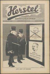 Herstel (1940) nr. 6 - Vakbeweging in de oorlog