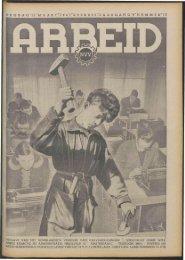 Arbeid (1941) nr. 11 - Vakbeweging in de oorlog