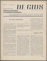 De Gids (1941) nr. 6 - Vakbeweging in de oorlog
