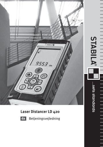 Laser Distancer LD 420 - Stabila