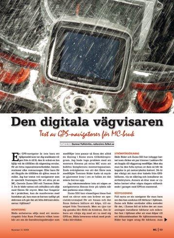 Den digitala vägvisaren