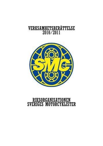 VERKSAMHETSBERÄTTELSE 2010/2011 ... - Smc