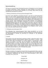 Datenschutzerklärung - Fundgrube Bodensee