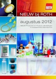 Nieuws August 2012 - Carl Roth