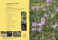 Häfte 100(5).indb - Svenska Botaniska Föreningen