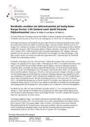 Föreningens yttrande 2012-04-02 - Svenska Botaniska Föreningen