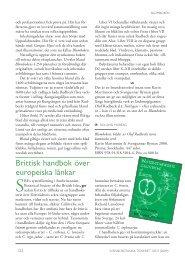 Brittisk handbok över europeiska lånkar - Svenska Botaniska ...