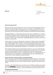 NOTAT Brint til transportformål Brint kan anvendes som drivmiddel i ...