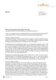 Øget effektivisering af elnetvirksomhederne