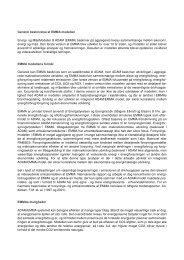 Generel beskrivelse af EMMA modellen Energi- og ... - Energistyrelsen