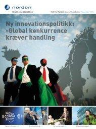 Ny innovationspolitikk: -Global konkurrence ... - Nordic Innovation