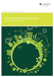 2012_15 Green Business Model ... - Nordic Innovation