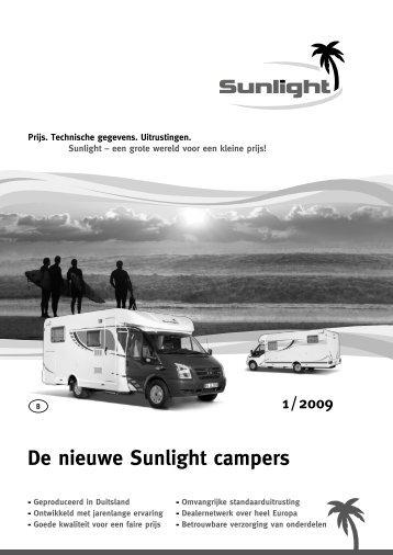 1 / 2009 De nieuwe Sunlight campers